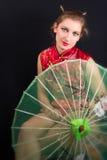 Geisha Lizenzfreies Stockfoto