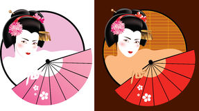 Geisha Immagine Stock