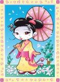 geisha Photo libre de droits