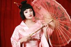 Geisha Stockbild