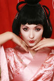 Geisha Stock Afbeelding