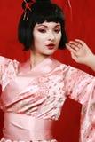 Geisha Immagini Stock Libere da Diritti