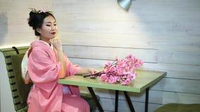 geisha arkivfilmer