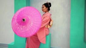 Geisha almacen de metraje de vídeo