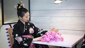 Geisha stock videobeelden