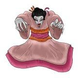 Geisha d'horreur Images libres de droits