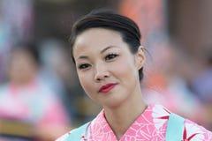 Geisha dancer Royalty Free Stock Image