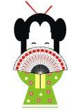 Geisha de Japón Fotografía de archivo