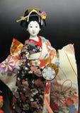 geisha de poupée Photos stock