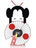 Geisha del Giappone Immagine Stock Libera da Diritti