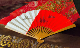 Geisha fan Stock Photo