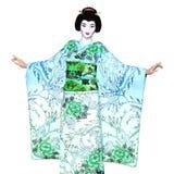 Geisha girl Stock Photos