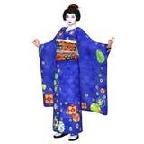 Geisha girl Stock Photography