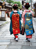 Geisha Girls Royalty Free Stock Photos