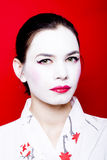 Geisha grazioso Fotografia Stock