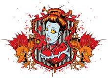 Geisha hermoso libre illustration