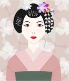 Geisha Royalty Free Stock Images