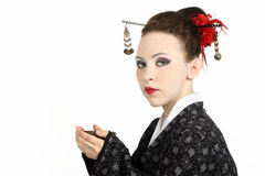 Geisha japonés Imagen de archivo