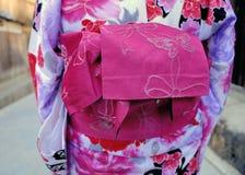 Geisha in kimono Stock Images