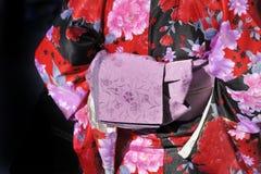 Geisha in kimono Royalty Free Stock Image