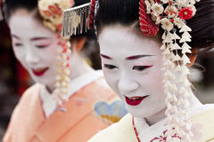 Geisha, Kyoto, Japan Royalty Free Stock Photos