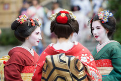 Geisha Maiko Royalty Free Stock Images