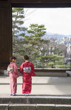 The geisha quarter of Gion. Meeting one of Kyoto's geisha is a magical and memorable experience. Here, I'll tell you all about them, where to find royalty free stock image