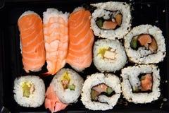 Geisha sushi Stock Photography
