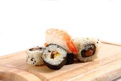 Geisha sushi Stock Images