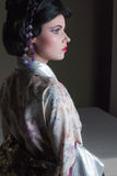 Geisha woman Stock Images