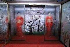 geishainterior Arkivfoto
