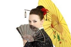 geishajapan Royaltyfria Bilder