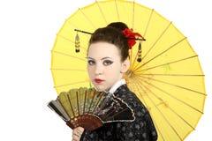 geishajapan Arkivfoto