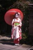 geishamaiko Arkivfoto