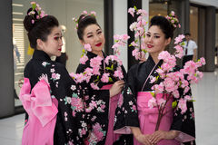Geishas Royalty Free Stock Image