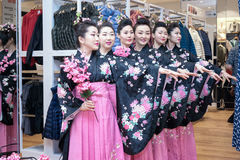 Geishas Stock Images