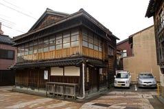 Geishaviertel, Kanazawa, Japan lizenzfreie stockfotografie