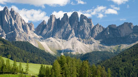 The Geisler peaks Royalty Free Stock Photo