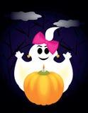 Geist auf Halloween Lizenzfreies Stockfoto