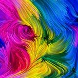 Geist der bunten Farbe Lizenzfreie Stockfotografie