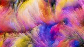 Geist der bunten Farbe Stockfotografie