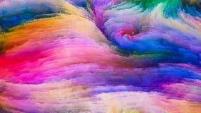 Geist der bunten Farbe Stockfotos