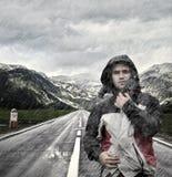 Geist des Abenteuers Stockfoto