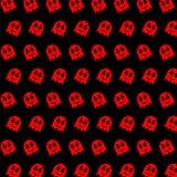 Geist - emoji Muster 79 stock abbildung