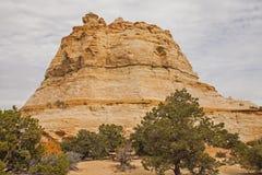 Geist-Felsen Utah auf zwischenstaatlichen 70 Lizenzfreies Stockfoto