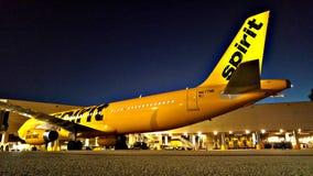 Geist-Fluglinien lizenzfreies stockfoto