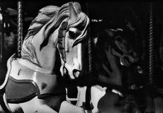 Geist-Pferde Stockbild