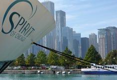 Geist von Chicago lizenzfreie stockbilder