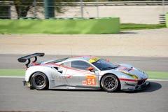 Geist von Renn-Ferrari 488 GTE in Monza Stockfoto
