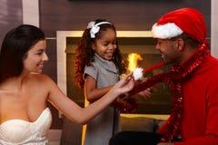 Geist von Weihnachten lizenzfreies stockfoto